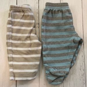 Other - BOYS 6MO STRIPED PANTS BUNDLE